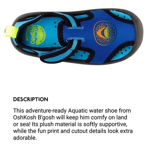 Sz 9 OshKosh B'Gosh Shark Aquatic Sandal