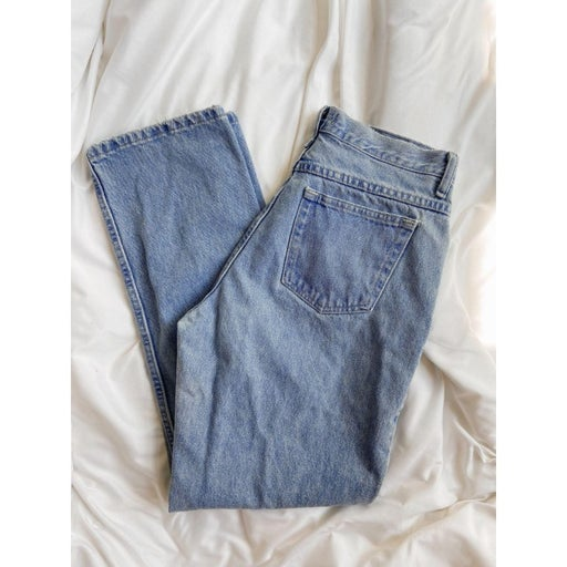 Distressed Riders by Lee Jeans (size 9/10)