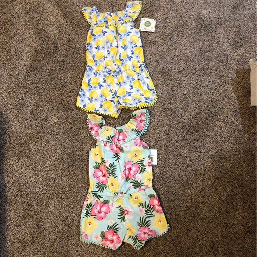 Romper (2) - little me - NWT - 18 month
