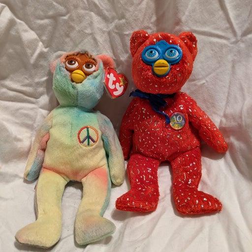 Handmade pair of Furby Oddbodies