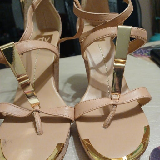 Dresses wedge heel thongs sandals with a