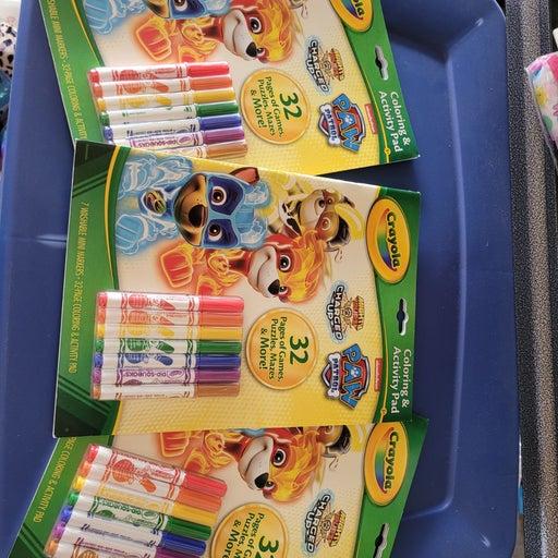 Crayola Paw Patrol Coloring book set