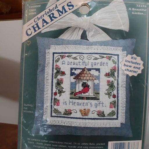 Counted Cross Stitch Kit Cherished Charm