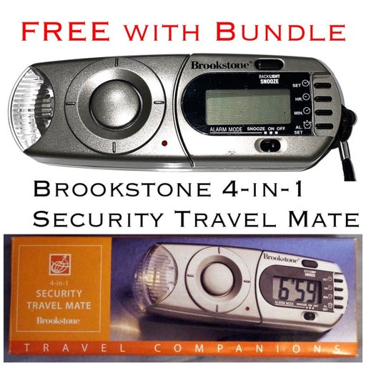 Brookstone 4in1 Security Travel Mate