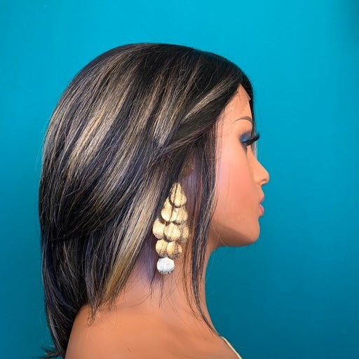 Highlight Human blend lace front