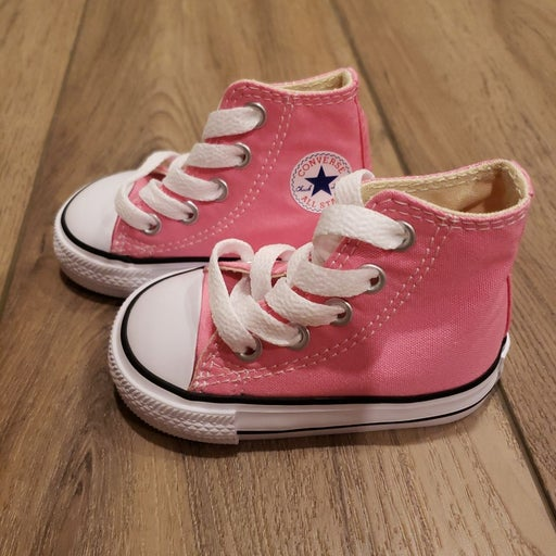 Converse One Star Infant Hi-Tops, Size 3