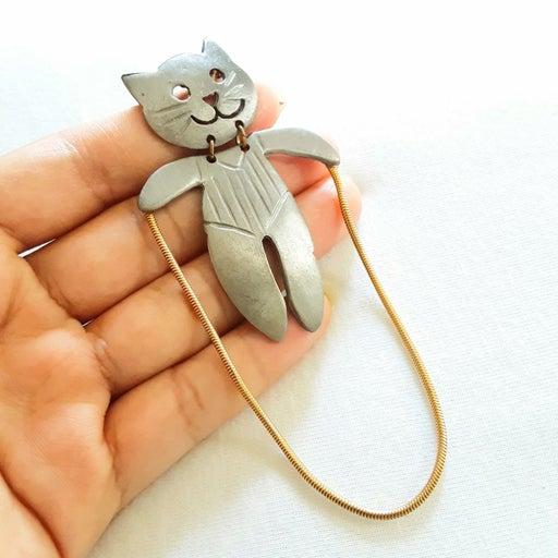 2-Tone Cat Jumping Rope ULTRA CRAFT PIN