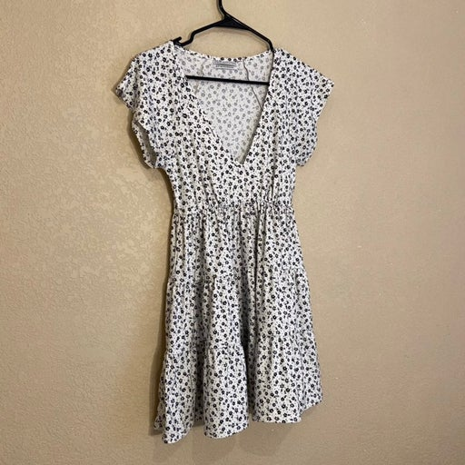 Urban Outfitters Black and White Floral Dress XS