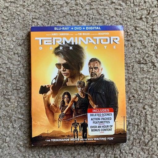 Terminator dark fate blu-ray + dvd + digital