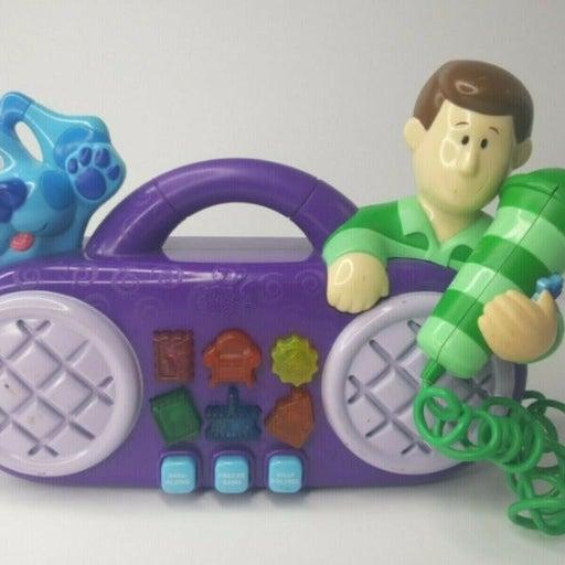 Vintage 1999 Blue's Clues Radio Micropho
