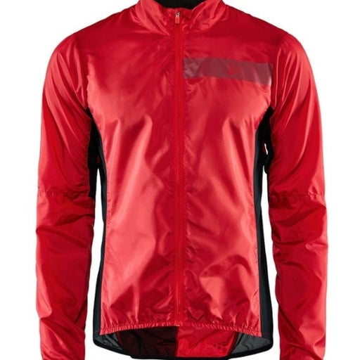 Craft Men's Cycling Jacket Size M Red