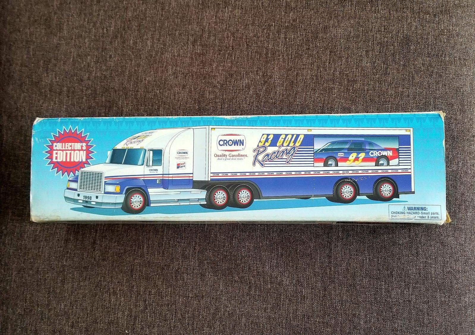 CROWN Race Car Carrier Semi Trailer '98