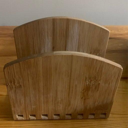 Expandable Wooden Napkin Holder