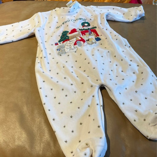 Little Me One Piece 1st Christmas 6 Months