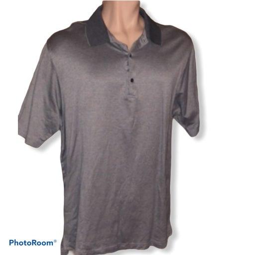 Bobby Jones Golf Polo Shirt Gray XL