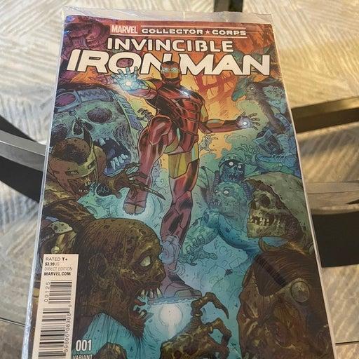 MCC Invincible Iron Man Variant Edition 001 Comic