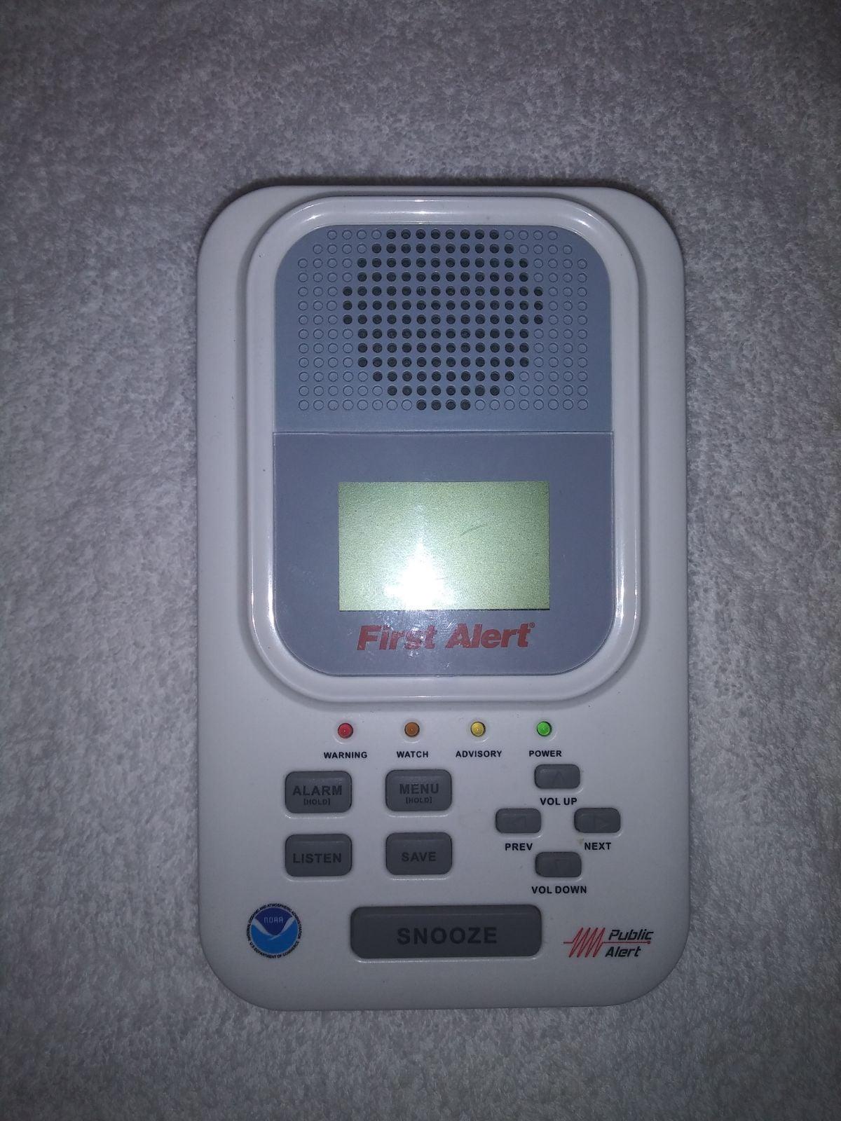 First alert wx 150