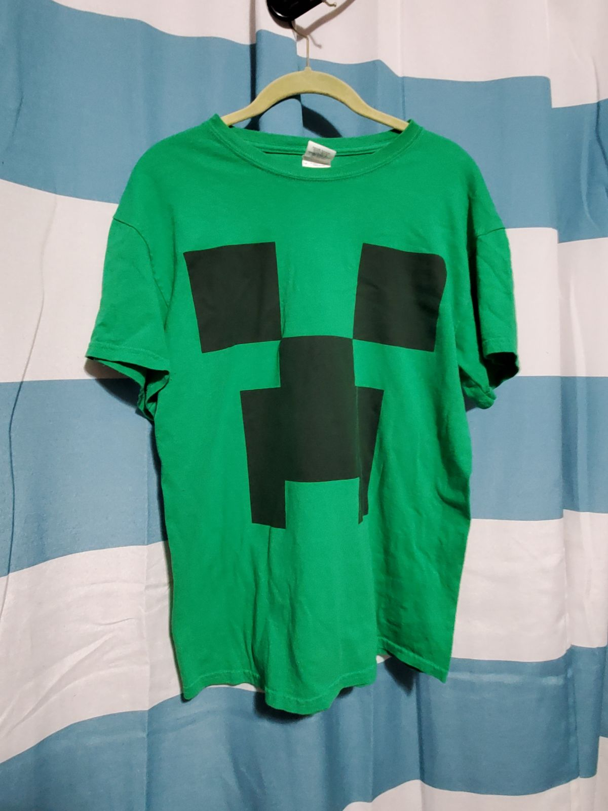 Minecraft creeper shirt