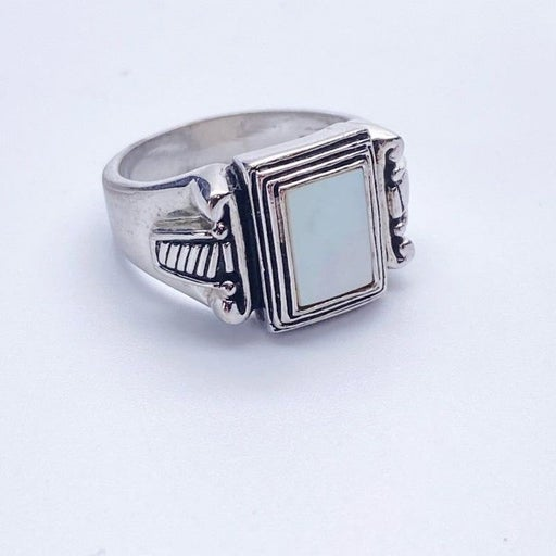 Premier Designs Mother Pearl Square Ring