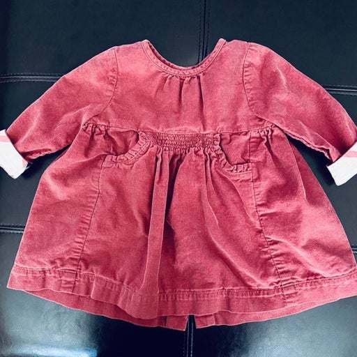 Burberry Corduroy Dress Rose Pink 9 mont