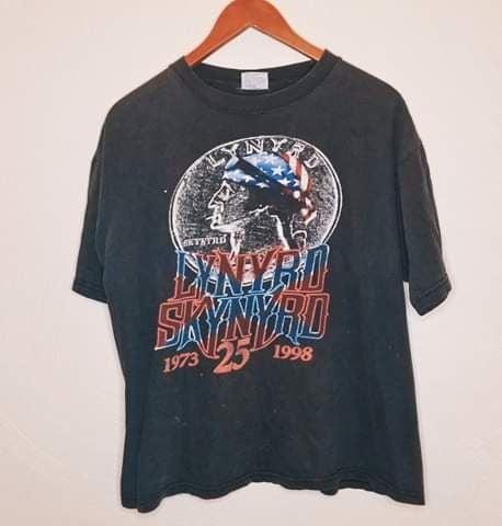 1998 lynyrd skynyrd shirt