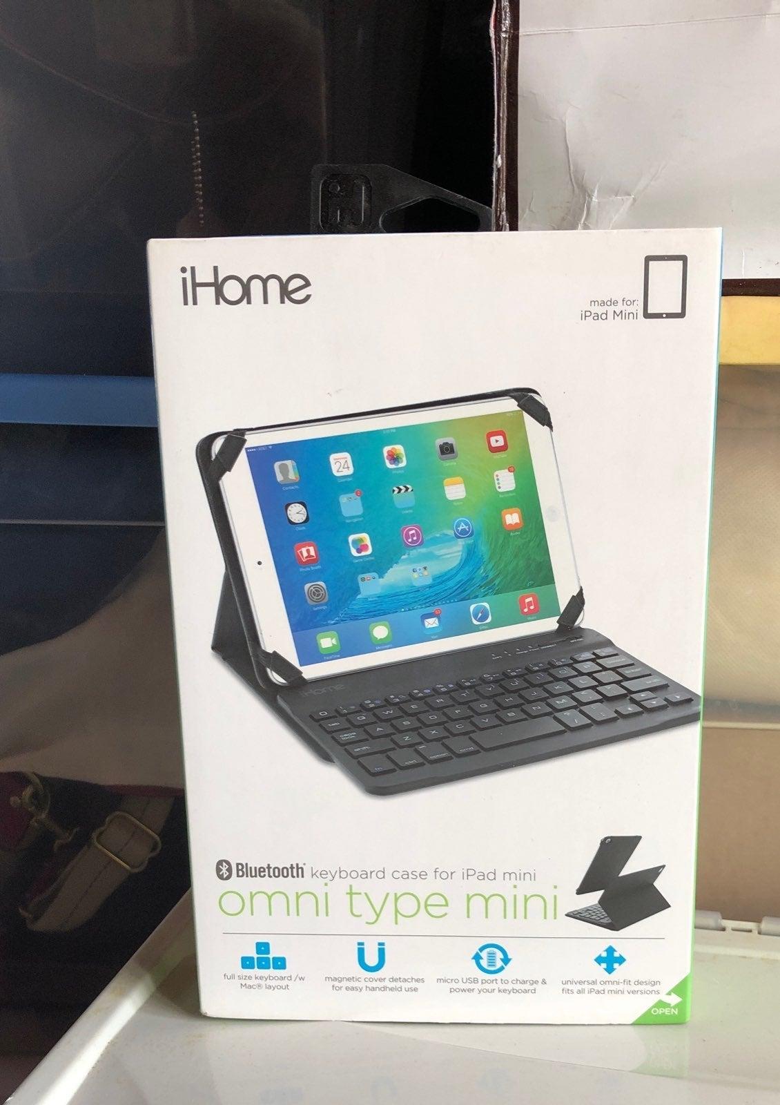 iPad mini bluetooth keyboard case