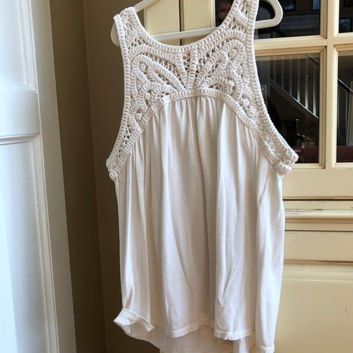 LOFT Embroidered top-PM