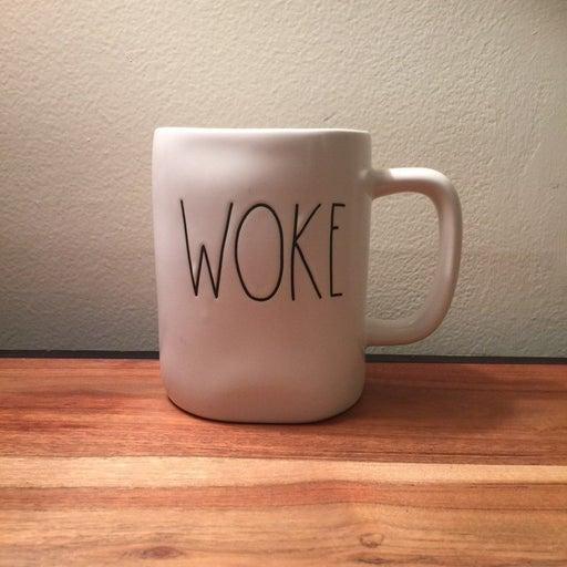RAE DUNN WOKE MUGS COFFEE