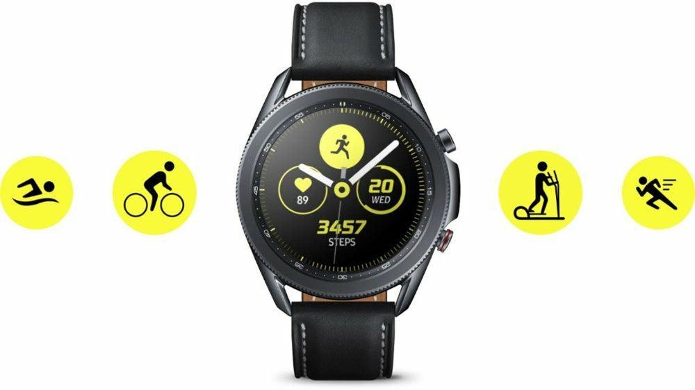 Samsung - Galaxy Watch3 Smartwatch 45mm