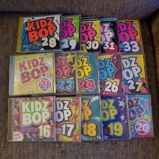 Kids Bop lot of 15 cds