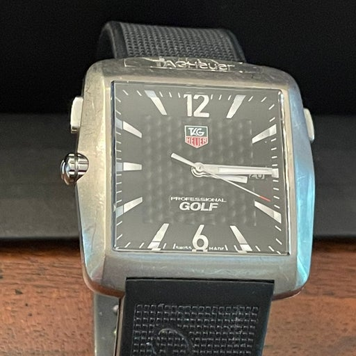 Tag Heuer Golf Watch Tiger Woods Edition