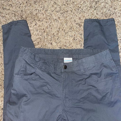 Columbia Grey Relaxed Pants 34x34
