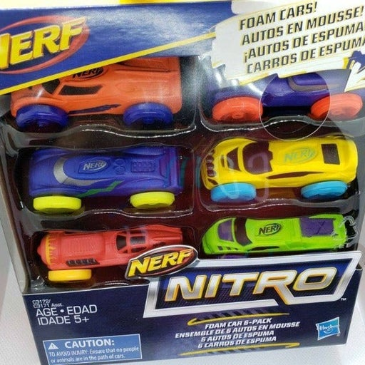 Nerf nitro toy cars