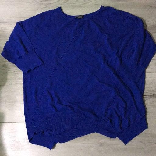 Covington woman blue sweater