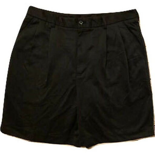 Mens  IZOD Golf Shorts Size 36W Black, NWT, Pleated Golf Shorts