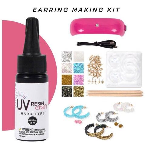 NEW UV Resin Earring Kit- DIY Crafting