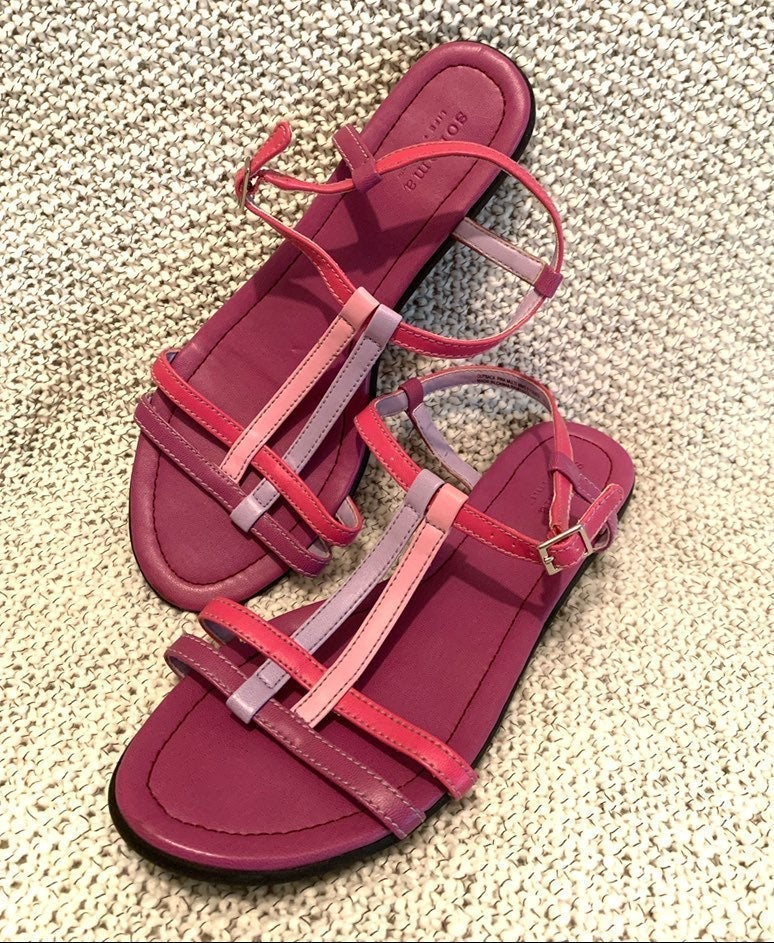 Sonoma Outback Pink Sandals size 9.5