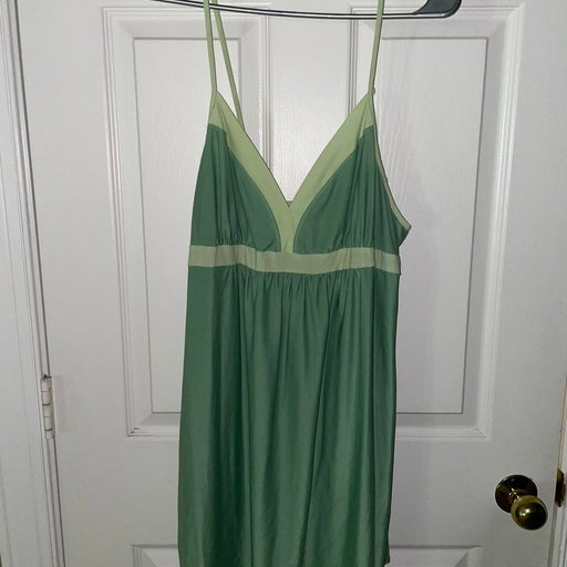 Y2K green dress - large