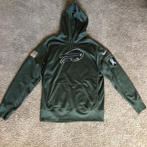 Authentic Nike Bills Salute to Service hoodie