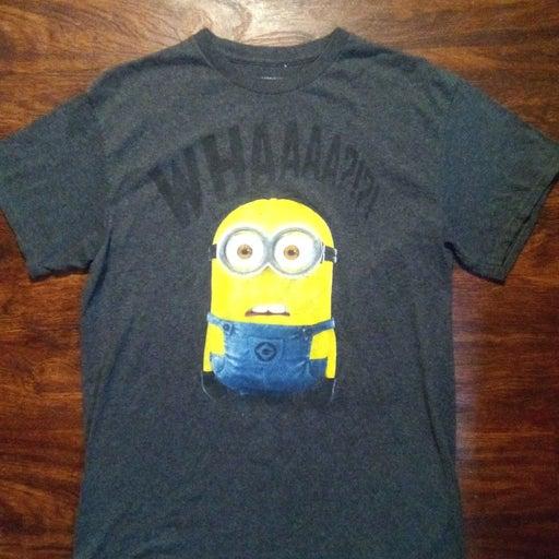 Disposable me tshirt