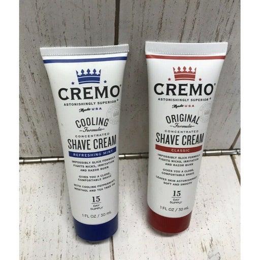 2X CREMO SHAVE CREAM Original Classic &