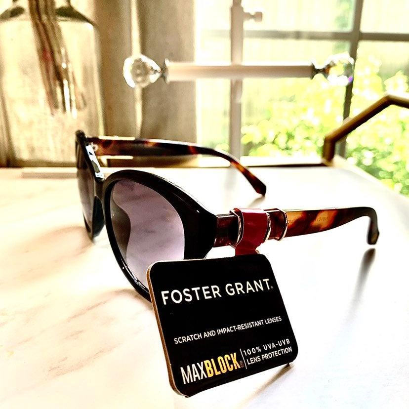 Femmes sans monture Foster Grant Lunettes de soleil marron chocolat maxblock 100/% UVA-UVB Pro