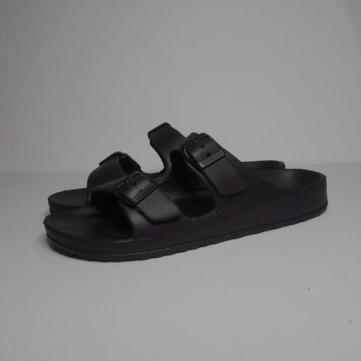 Black Crane Sandals
