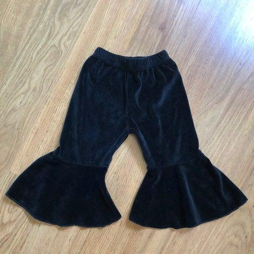 Baby girl black Bell Bottom Pant