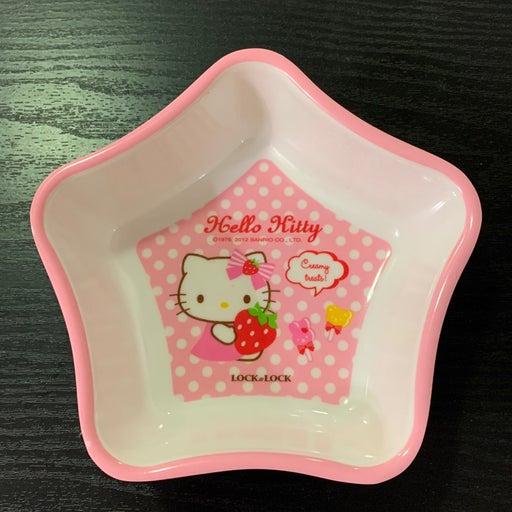 New sanrio hello kitty star plastic bowl