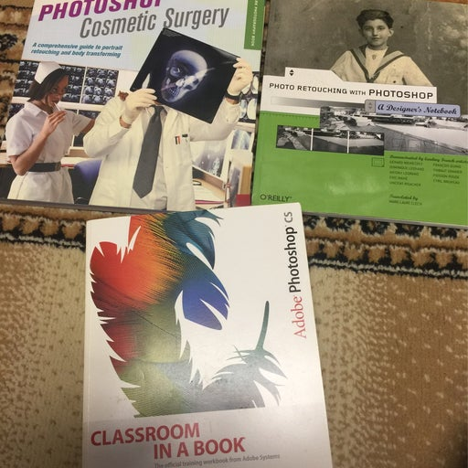 Lot Of  3 Photoshop Learning Books