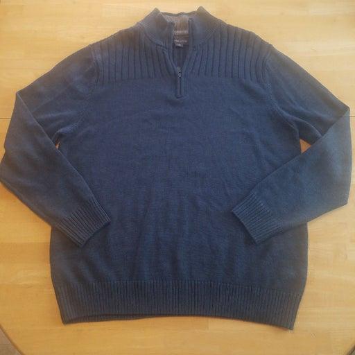 Men's zip Sweater