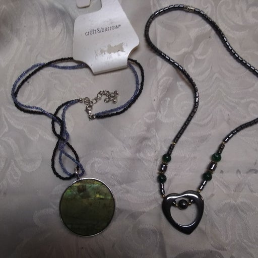 New Signed Croft and Barrow Necklace and