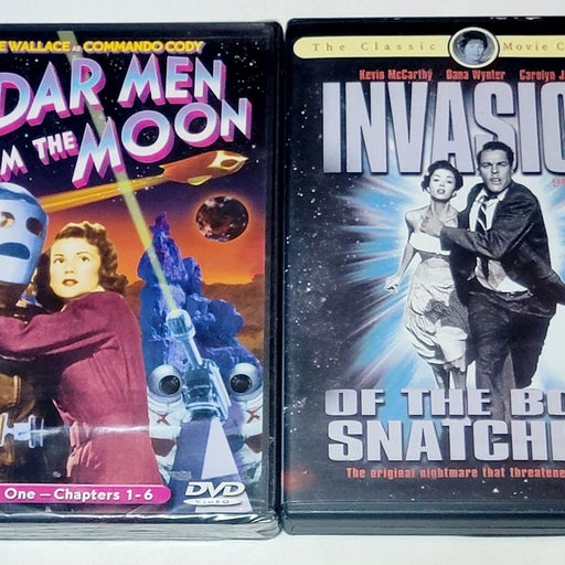 Radar Men From The Moon & Invasion Of...