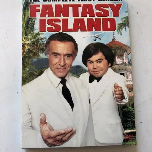 Fantasy Island: The Complete First Season (DVD, 1978) Discs Good Minor Case Wear